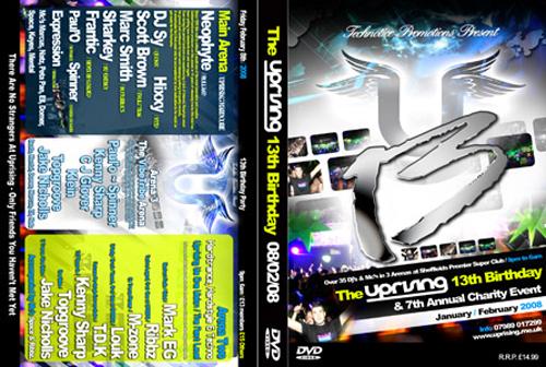 Uprising DVD 08-02-2008 13th BIRTHDAY AT THE PLUG