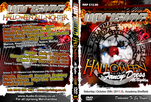 Uprising DVD 29-10-2011 HALLOWEEN ALL-NIGHTER AT O2 ACADEMY