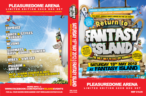 Fantasy Island   19.05.12 - The Return To Fantasy Island - PLEASUREDOME (CD 6 pack)
