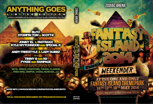 Fantasy Island   16.05.14 - Fantasy Island 14 - ZODIAC (CD 4 pack)
