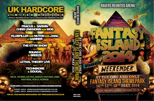 Ravers 39   17.05.14 - Fantasy Island 14 - RAVERS REUNITED (CD 6 pack)