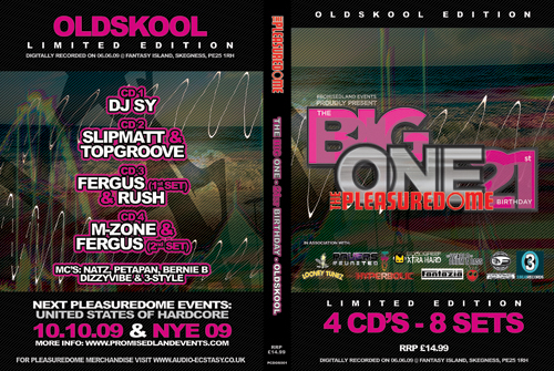 Pleasuredome   06.06.2009 - The Big One OLDSKOOL  - CD4