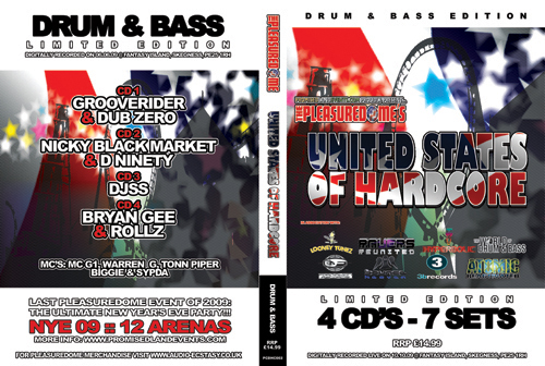 Pleasuredome   10.10.2009 - United States of Hardcore DRUM & BASS  - CD4