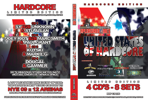 Pleasuredome   10.10.2009 - United States of Hardcore HARDCORE  - CD4