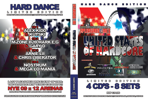 Pleasuredome   10.10.2009 - United States of Hardcore HARD DANCE  - CD4