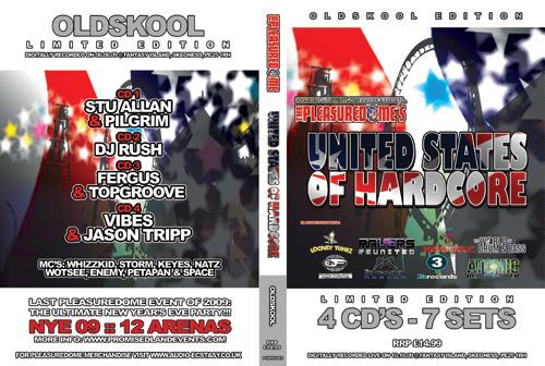Pleasuredome   10.10.2009 - United States of Hardcore OLDSKOOL  - CD4