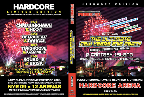 Pleasuredome   31.12.2009 - New Years Eve HARDCORE  - CD4