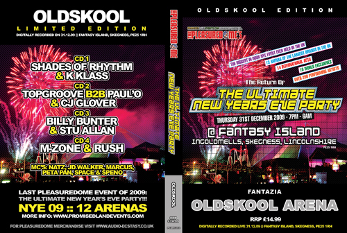 Pleasuredome   31.12.2009 - New Years Eve OLDSKOOL  - CD4