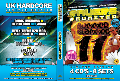 Ravers 20   09.07.11 - The Summer Slammer 2011 - Hardcore CD4 Pack