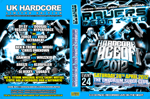 Ravers 24   28.04.12 - The Hardcore Face Off 2012 - Hardcore CD6 Pack