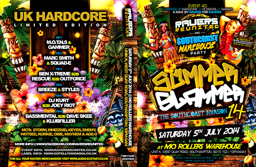 Ravers 40   05.07.14 - The Summer Slammer 2014 - Hardcore CD6 Pack