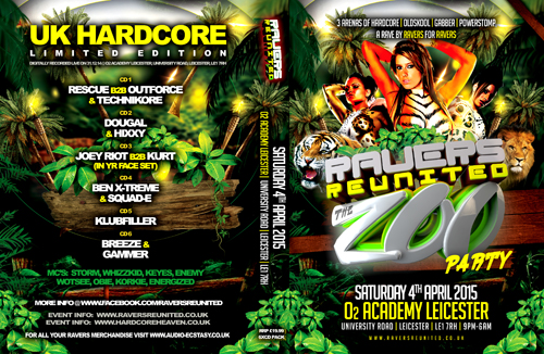 Ravers 44   04.04.15 - The Zoo Party - Hardcore CD6 Pack