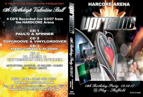 Uprising 09-02-2007 (SQ5) Hardcore CD4