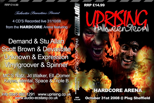 Uprising 31-10-2008 (SQ5) Hardcore CD4