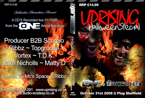 Uprising 31-10-2008 (SQ5) OneVision CD4