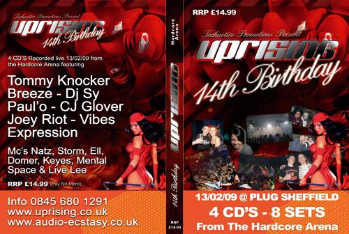 Uprising 13-02-2009 (SQ5) Hardcore CD4