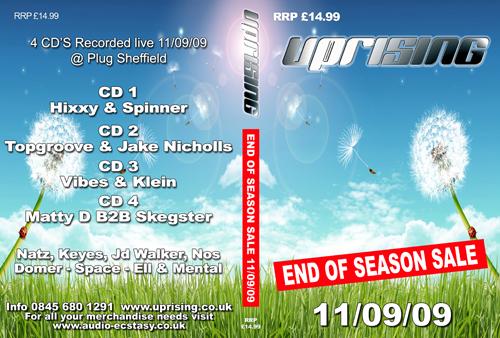Uprising 11-09-2009 (SQ5) CD4