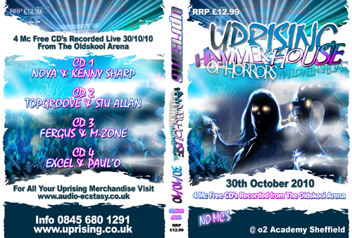 Uprising 30-10-2010 (SQ5) Oldskool CD4