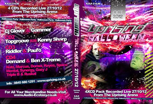 Uprising 27-10-2012 (SQ5) Main Arena CD4