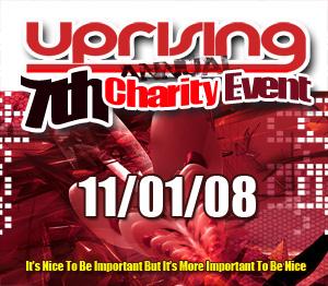Uprising  11.01.08 - MARK EG / SPINNER  - (SQ5)