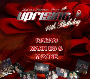 Uprising  13.02.09 - MARK EG / M-ZONE  - (SQ5)
