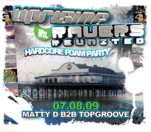 Uprising  07.08.09 - MATTY D B2B TOPGROOVE / MATTY D B2B TOPGROOVE - (SQ5)