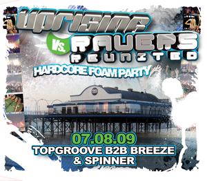 Uprising  07.08.09 - BREEZE B2B TOPGROOVE / SPINNER - (SQ5)