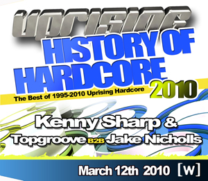 Uprising  12.03.10 - KENNY SHARP / TOPGROOVE B2B JAKE NICHOLLS - (SQ5)