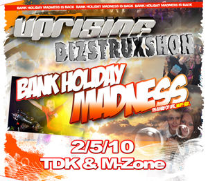 Uprising  02.05.10 - TDK / M-ZONE - (SQ5)
