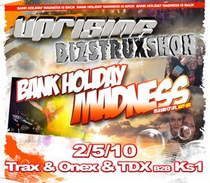 Uprising  02.05.10 - TDX B2B KS1 / TRAX & ONEX - (SQ5)