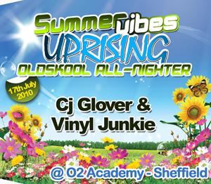 Uprising  17.07.10 - CJ GLOVER / VINYL JUNKIE - (SQ5)