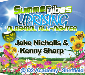 Uprising  17.07.10 - JAKE NICHOLLS / KENNY SHARP  - (SQ5)
