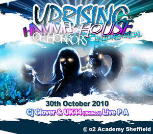 Uprising  30.10.10 - CJ GLOVER / UK 44 (OLDSKOOL) PA - (SQ5)