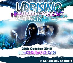 Uprising  30.10.10 - JAKE NICHOLLS / MARK EG  - (SQ5)