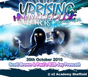 Uprising  30.10.10 - SCOTT BROWN / PAUL'O B2B JAY PRESCOTT - (SQ5)