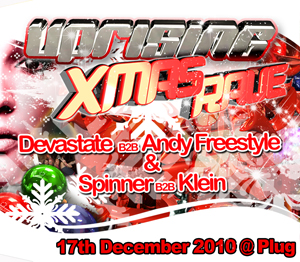 Uprising  17.12.10 - DEVASTATE B2B ANDY FREESTYLE / SPINNER B2B KLEIN - (SQ5)