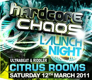Hardcore Chaos  12.03.11 - ULTRABEAT / RIDDLER - (SQ5)