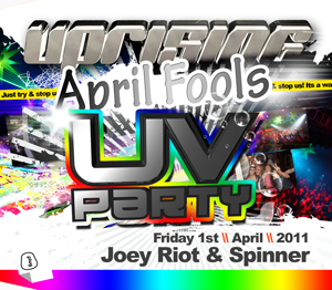 Uprising  01.04.11 - JOEY RIOT / SPINNER - (SQ5)