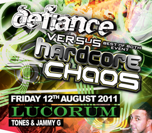 Hardcore Chaos  12.08.11 - TONES / JAMMY G - (SQ5)