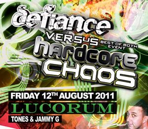 Hardcore Chaos  12.08.11 - TONES / JAMMY G - (SQ5)