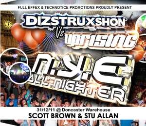 Uprising  31.12.11 - SCOTT BROWN / STU ALLAN  - (SQ5)