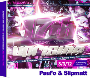 Uprising  03.03.12 - PAUL'O / SLIPMATT - (SQ5)