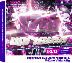 Uprising  03.03.12 - TOPGROOVE B2B JAKE NICHOLLS / M-ZONE V MARK EG - (SQ5)