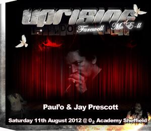 Uprising  11.08.12 - JAY PRESCOTT / PAUL'O - (SQ5)
