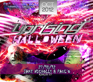 Uprising  27.10.12 - RIDDLER / PAUL'O - (SQ5)