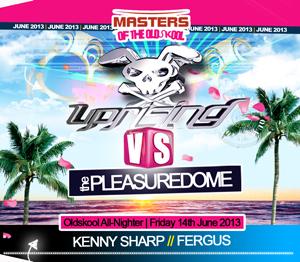Uprising  14.06.13 - KENNY SHARP / FERGUS  - (SQ5)