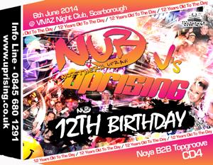 Uprising  06.06.14 - NOYA B2B TOPGROOVE / NOYA B2B TOPGROOVE - (SQ5)
