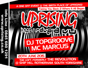 Uprising  20.06.15 - TOPGROOVE / TOPGROOVE - (SQ5)