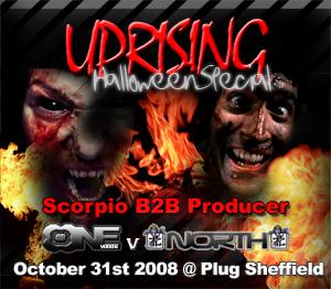 Uprising  31.10.08 - SCORPIO B2B PRODUCER / SCORPIO B2B PRODUCER  - (SQ5)