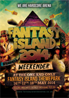 Fantasy Island   16.05.14 - Fantasy Island 14 - WE ARE HARDCORE (CD 6 pack)